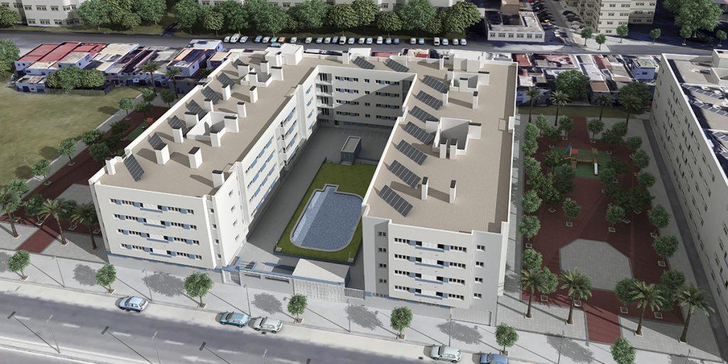 promocion de pisos con placas solares